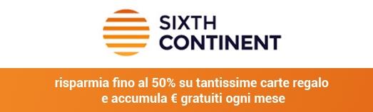 Sixthcontinet - Ricevi reddito di cittadinanza e acquista al 50%