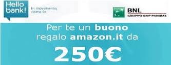 Apri il conto HelloBank. €250 in regalo.